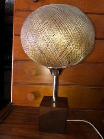 SPUN FIBERGLASS LAMP