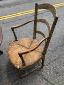 ANTIQUE RUSH CHAIRS