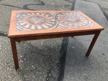 DANISH TILE COFFEE TABLE