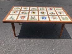 GERMAN MID CENTURY COFFEE TABLE