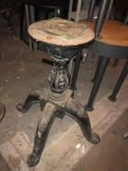 WOOD CARVED TABLE BASE