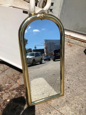 GOLD TRIMMED MIRROR VINTAGE