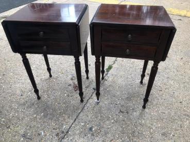 VINTAGE SLIM SIDE TABLES