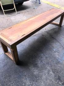 6 FOOT WOOD BENCH