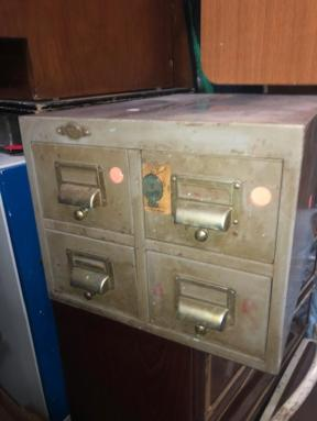 ART METAL INDUSTRIAL CABINET
