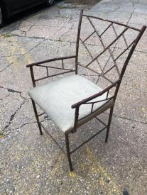 HOLLYWOOD REGENCY CHAIR