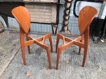 ITALIAN WOOD CHAIRS
