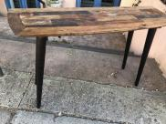 WOOD ENTRANCE TABLE