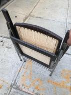 FOLDING CANE CHAIR