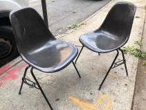 HERMAN MILLER FIBERGLASS CHAIRS