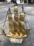 MARBLE AND BRASS DESIGNER SHIP