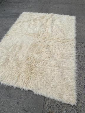 FUR RUG FROM GREECE