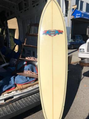 GORDON AND SMITH SURFBOARD