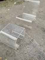 LUCITE CHAIR AND OTTTOMAN2