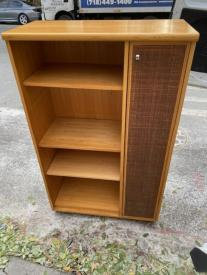 MID CENTURY CABINET CLOSED