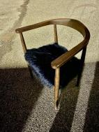 MODERN FURRY CHAIR