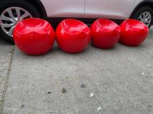 RED ORB CHAIRS