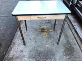 ENAMEL TOP DESK