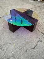 LUCITE COFFEE TABLE
