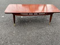 MID CENTURY COFFEE TABLE NEW