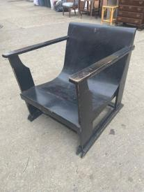 BDNT WOOD LOUNGE CHAIR