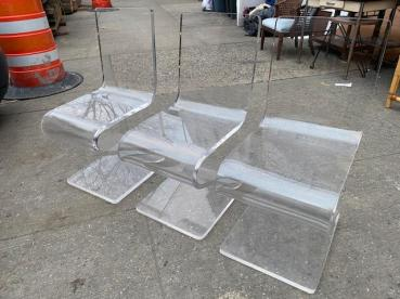 LUCITE CHAIRS 3