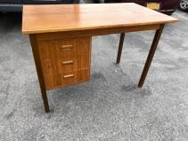 TEAK DESK MADE IN SWEEDEN