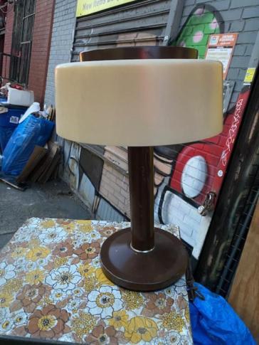 1970S PLASTIC LAMP