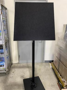 HUGE SHADE FLOOR LAMP