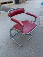 MID CENTURY CHROME CHAIR