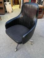 MID CENTURY WHEEL CHAIR