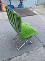 MILO GREEN VELVET CHAIR