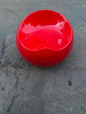 RED ORB CHAIR