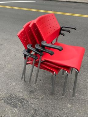 STACKING CANADIAN CHAIRS
