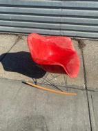 FIBERGLASS SHELL CHAIR ROCKER