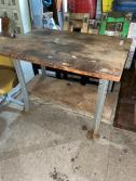 RUSTIC WORKBENCH