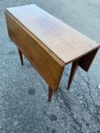 VINTAGE WOOD DROP LEAF TABLE