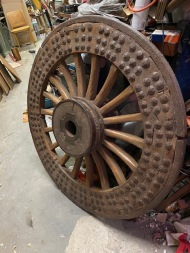 ANTIQUE WHEEL